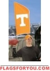 "Tennessee Volunteers Tailgate Flag 42"" x 20"""