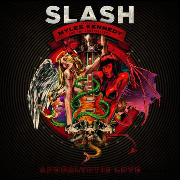 SLASH - Apocalyptic Love (180 gram, 2PC) [Import] WITH BOOK!-Sealed-New Record on Vinyl Track Listing - Apocalyptic Love - One Last Thrill - Standing In The Sun - You're A Lie - No More Heroes - Halo
