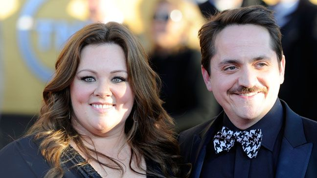 melissa mccarthy ben falcone  both SO attractive!!