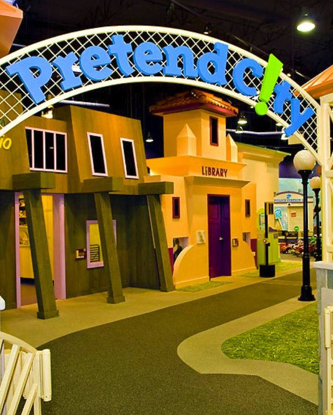 Pretend City in orange county- Irvine, Ca Young kids love this place! So much to do, explore, ans see! Great party place!