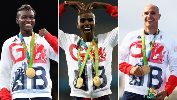 Nicola Adams, Mo Farah, Liam Heath.  Farah successfully defends his Olympic 5,000m title in Rio as Great Britain surpass their medal haul from London 2012.