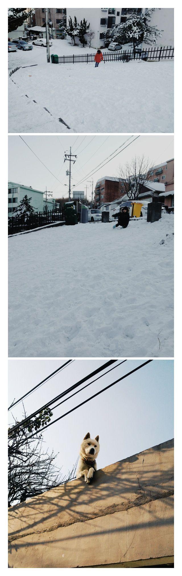 My hometown in Winter