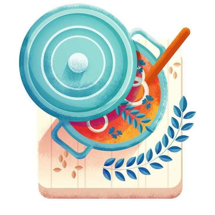 Maïté Franchi Sony App - Food & Skyscapes on Behance