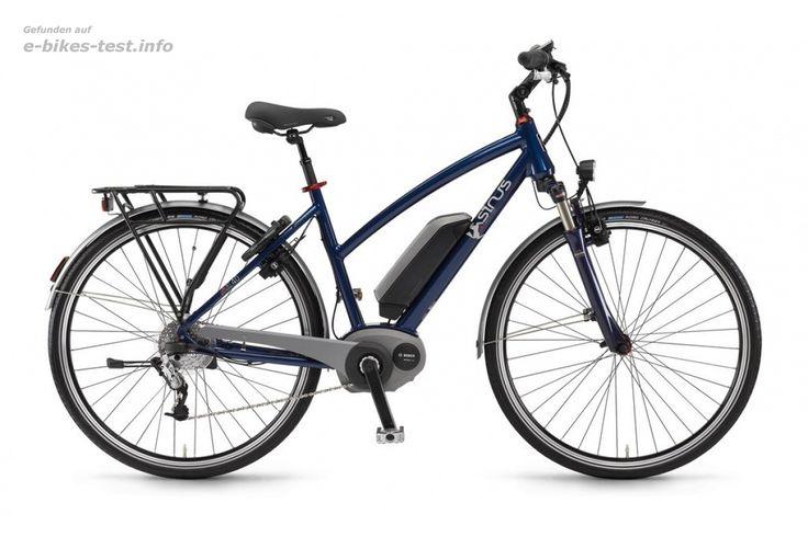 Sinus Ebike Fahrrad BT40 Damen 500Wh 28 Zoll 24-G Dual Drive darkblue