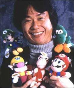 Shigeru Miyamoto - my favorite video game designer