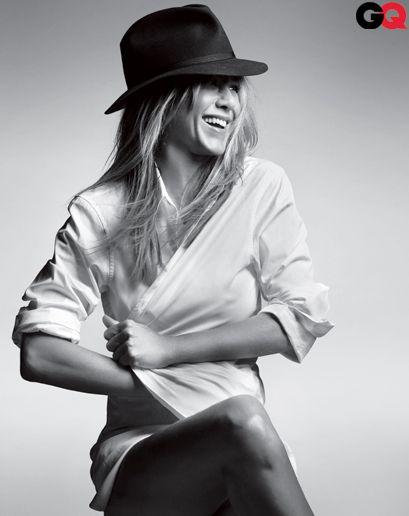 The Sexiest Women of 2012: Jennifier Aniston Photos: GQ