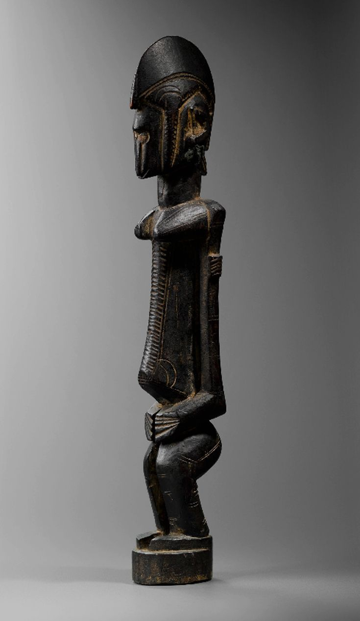 Africa   Figure from the Bamana people of Mali   Wood   ca. 1960    March 2014 Catalogue, pg 7