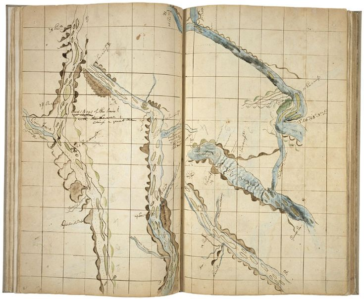 Zebulon Pike's Notebook of Maps, Traverse Tables, and Meteorological Observations; Records of the Adjutant General's Office, 1780s-1917; Record Group 94; National Archives.