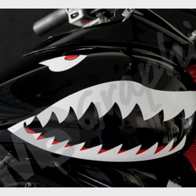 Shark Motorcycle Gas Tank
