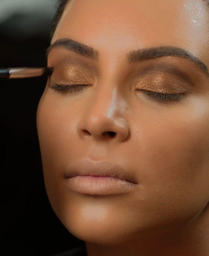 My Espy Awards Look Kim Kardashian West Eyebrow Makeup