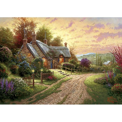 A Peaceful Time (1000pc) Jigsaw Puzzle by Gibsons  from PuzzleFolk