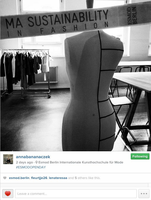 #studio #atelier #esmodberlin #sustainability #fashion