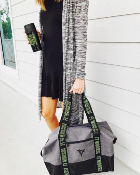 It's the ultimate travel accessory and it's the perfect size to hold all your fave BlackGreenBling [leaving you with extra room to splurge at Conference ]!
