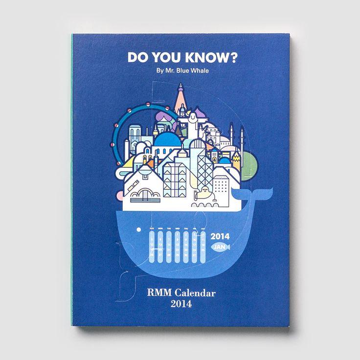 RMM Calendar 2014, Do you know? by Mr. Blue Whale