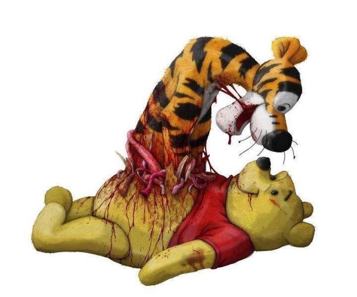Porn winnie pooh Winnie
