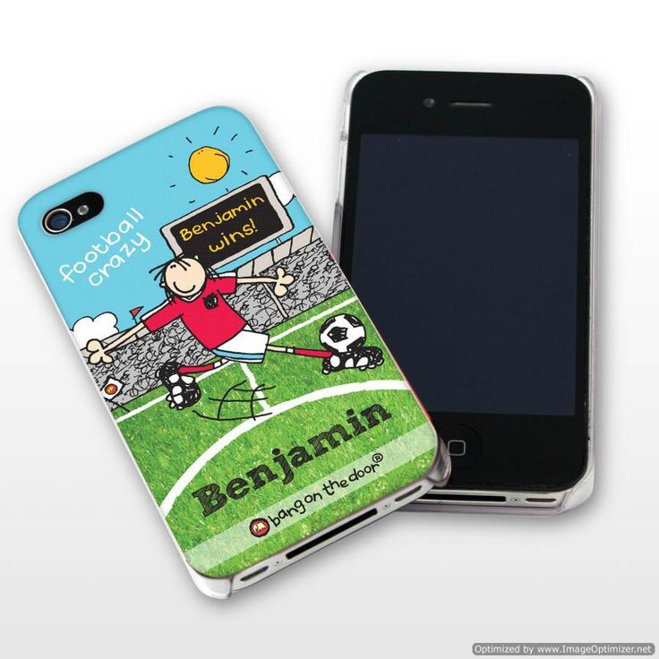 Personal Touch Gifts - Bang On The Door Football Crazy iPhone Case, £14.99 (http://personaltouchgifts.co.uk/bang-on-the-door-football-crazy-iphone-case/)