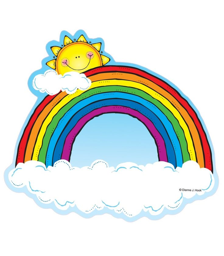Rainbows Cut-Outs