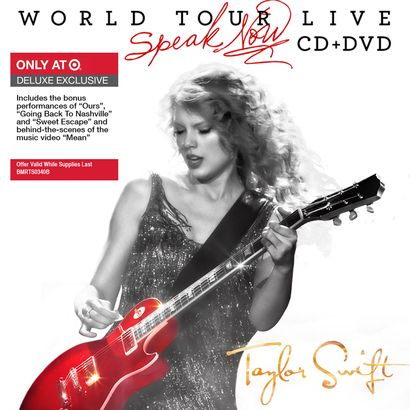 Taylor Swift - 1st Live Album - Speak Now World Tour Live (Target Edition)