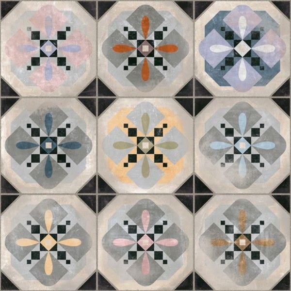 Klinker Hyde 31,6x31,6 - world parks från spanska Vives. En mönstrad klinker som passar lika bra till golv och väggar i både köket, badrummet och finrummet.