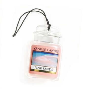 Yankee Candle Pink Sands Car Jar...this scent brings back memories...you know how scents do?!