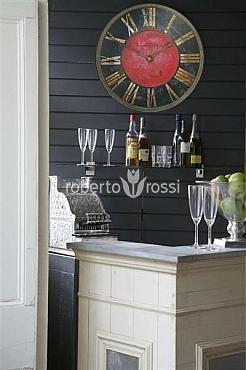 Wall clock Roger Lascelles London Turret