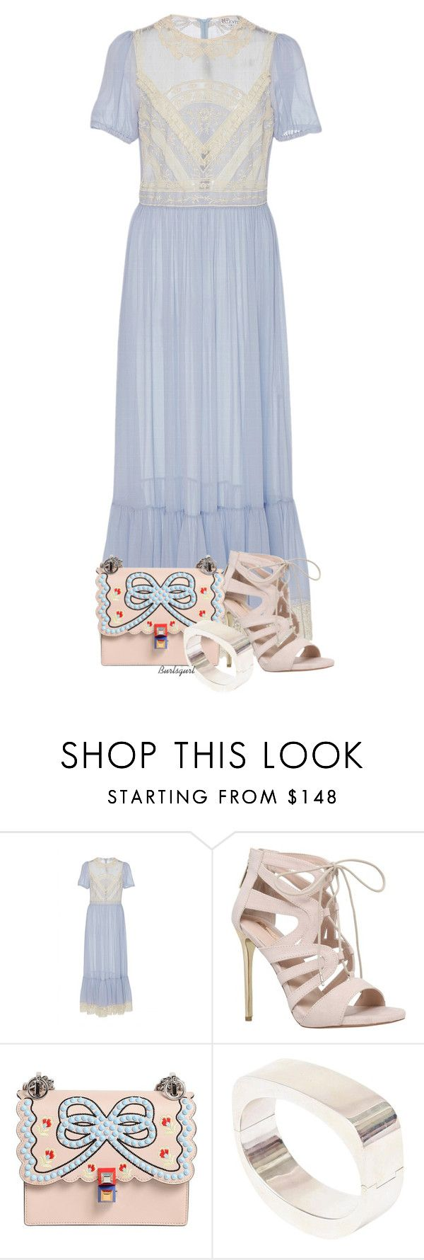 """Modestly Trending"" by burlsgurl ❤ liked on Polyvore featuring RED Valentino, Carvela and Fendi"