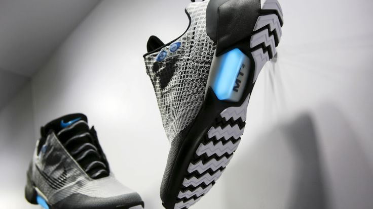 Nice kicks! Self-lacing sneakers and other high-tech footwear
