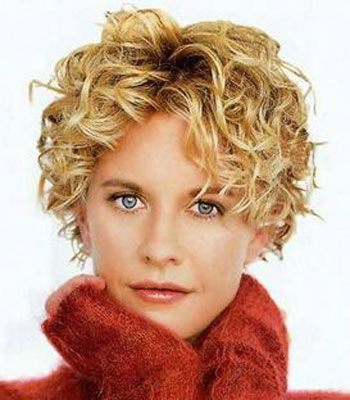 I've always loved Meg Ryan's hair. short curly hairstyles