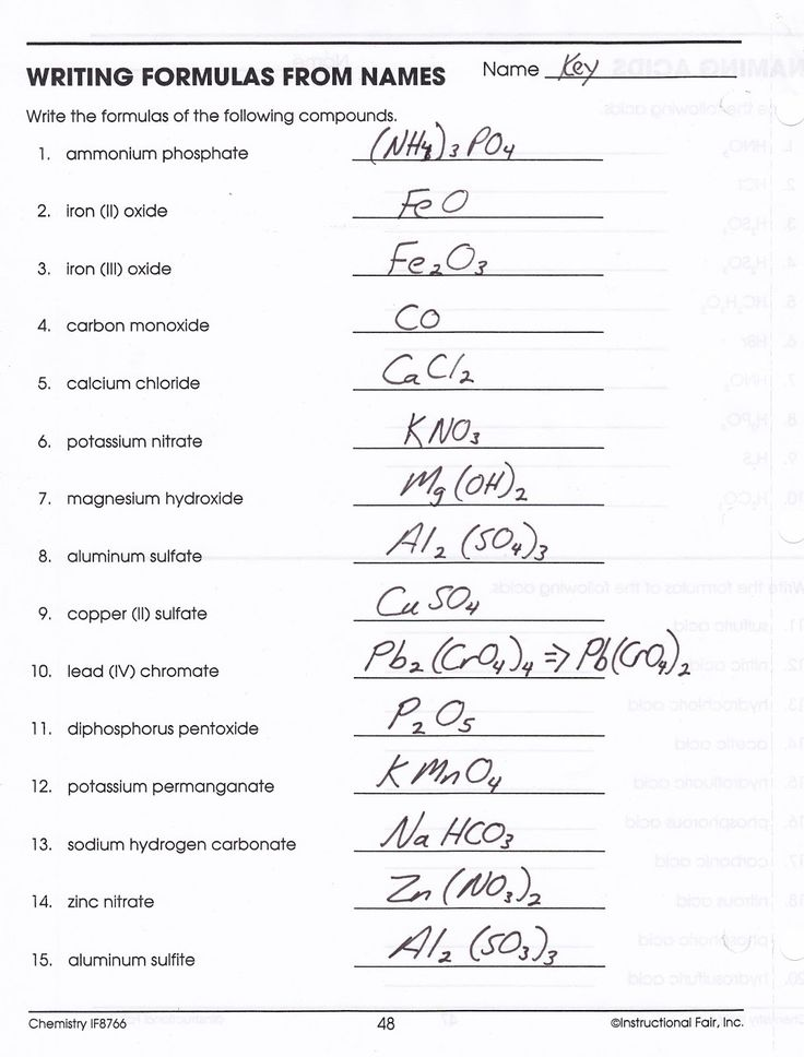 PeriodicAcademic Writing Binary formulas Worksheet Answers