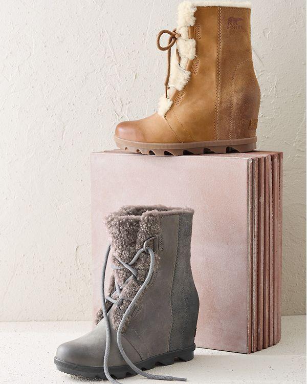 f18180cad846 Sorel Joan of Arctic Wedge II Shearling Boots