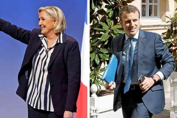 The Look of the French Election   Marine Le Pen used costume to cast herself as the mother of France, and Emmanuel Macron's sober suit was modified as his poll numbers shifted.