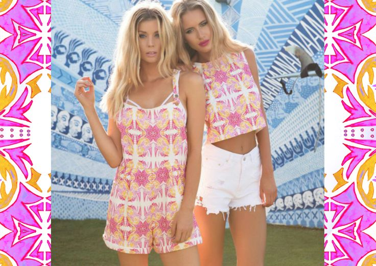 Britt Laspina Textile Design for Sabo Skirt