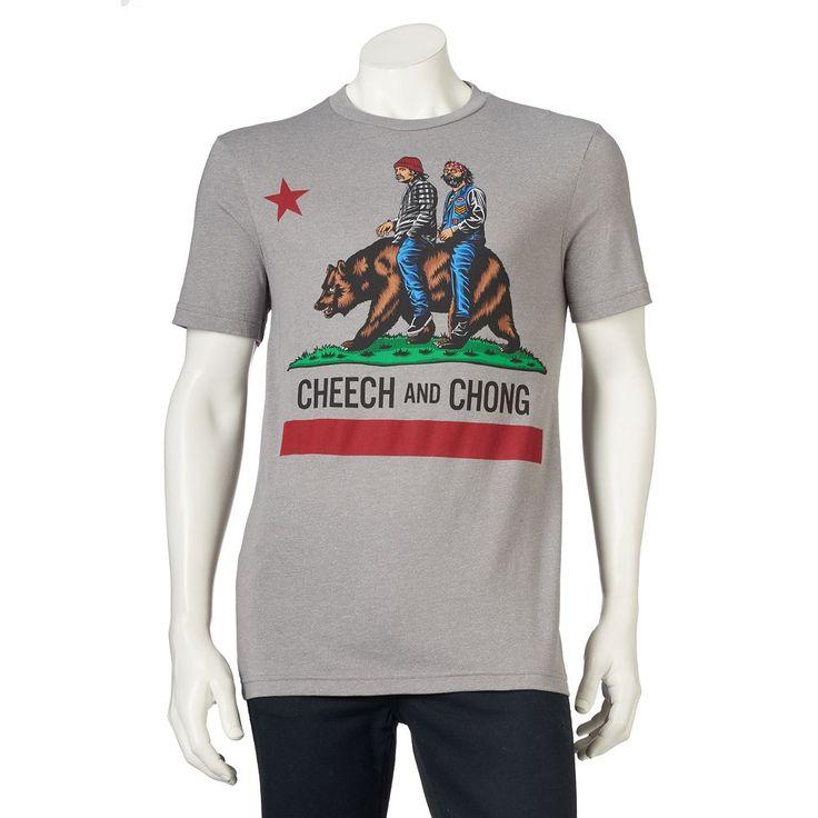 Men's Cheech & Chong Tee, Size: Medium, Ovrfl Oth