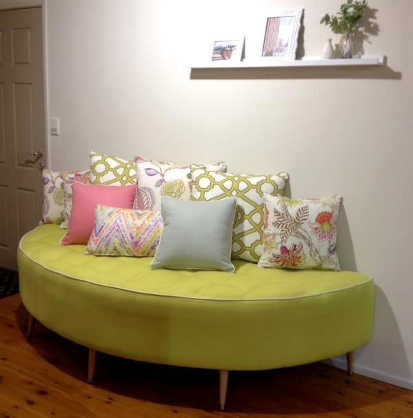 Warwick Fabrics, Brisbane showroom, May 2015. Featuring our Cornucopia collection.