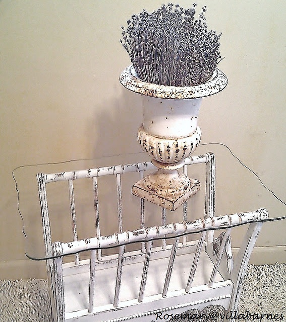 Wonderful Ugly Magazine Rack To Chippy Table Pictures Gallery