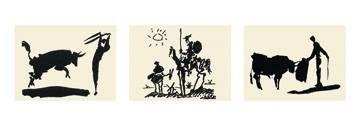Pablo Picasso - Stierkämpfer, Don Quixote, Stierkampf - jetzt bestellen auf kunst-fuer-alle.de
