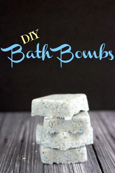 DIY Bath Bombs - Mother's Day Gift Idea