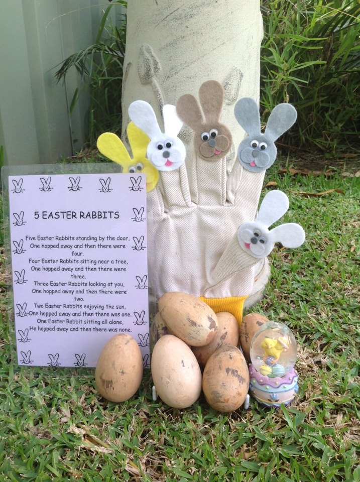 This is an Easter Glove Finger Play to use in Early Childhood Environments.  I sell these on my facebook page, Fingadingadoo
