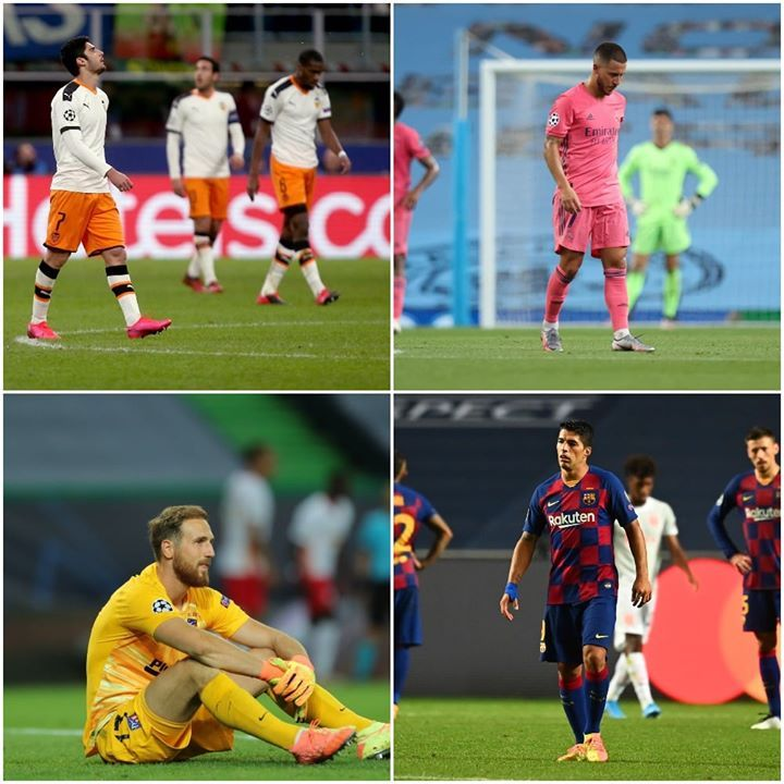 Barcelona Atletico Madrid Real Madrid Valencia A Spanish Team Fails To Make The UCL Semi finals For The st Ti In Atl tico Madrid Soccer Field Real Madrid
