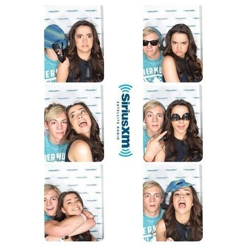 Ross lynch and Maia mitchell. They are so cute!!!!!<3