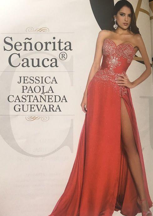 Señorita Cauca Jessica Paola Castañeda