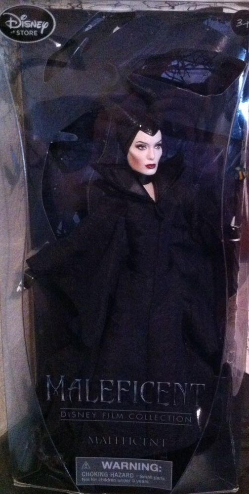 Disney Store Exclusive Film Collection Maleficent Angelina Jolie Doll NIB #Disney #Dolls
