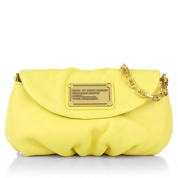 Marc by Marc Jacobs – Classic Q Karlie Banana Creme - Marc by Marc Jacobs Classic Q Karlie Banana Creme Handtaschen