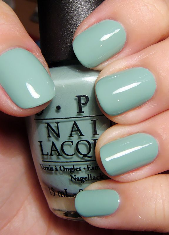OPI Mermaid's Tears 2011 Pirates of the Caribbean : On Stranger Tides Collection #turquoise #creme