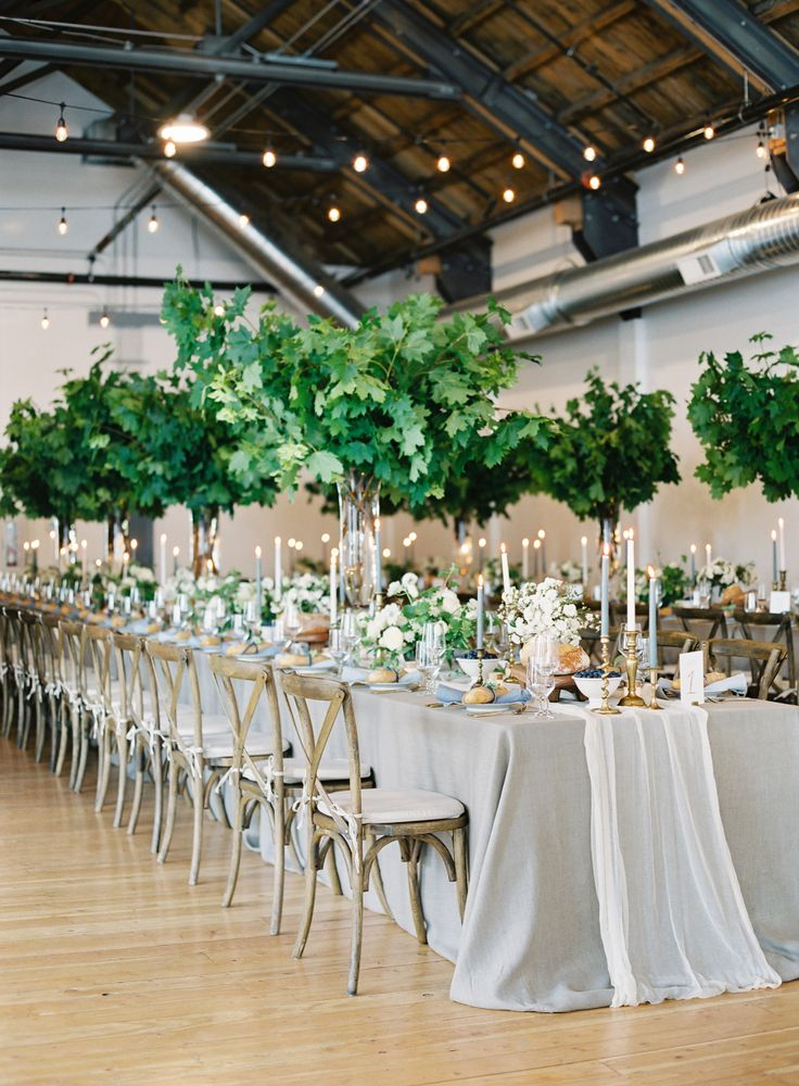 2797 best wedding centerpieces images on pinterest diy wedding greenery centerpieces that are perfect for this urban wedding ceremony venue metropolist http junglespirit