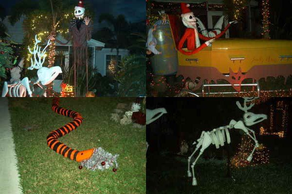 Nightmare Before Christmas Yard Art Decorating