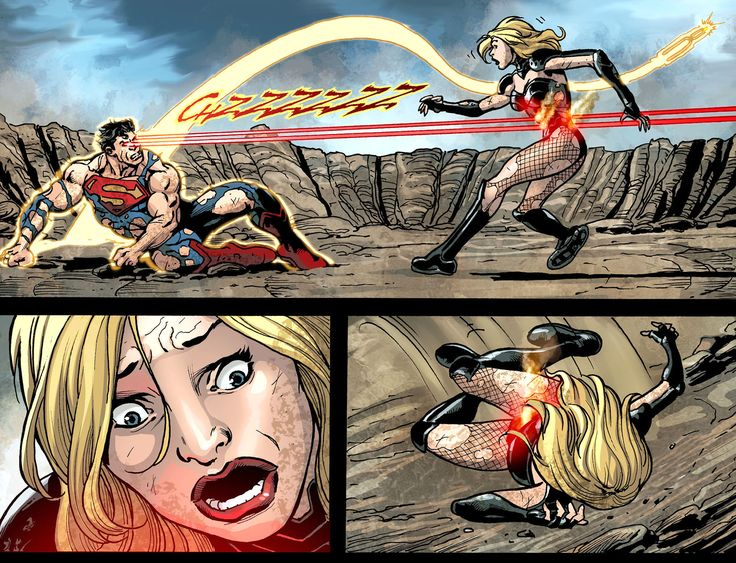 Superman Kills Black Canary (Injustice)