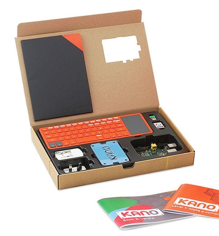 Build It, Code It: Kano DIY Computer Kit