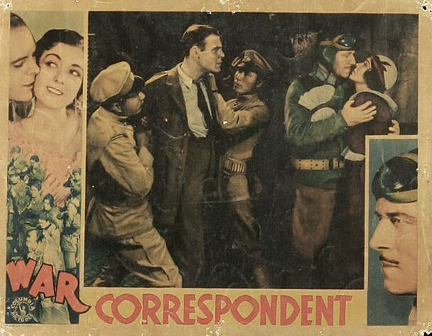 Ralph Graves, Jack Holt, and Lila Lee in War Correspondent (1932)