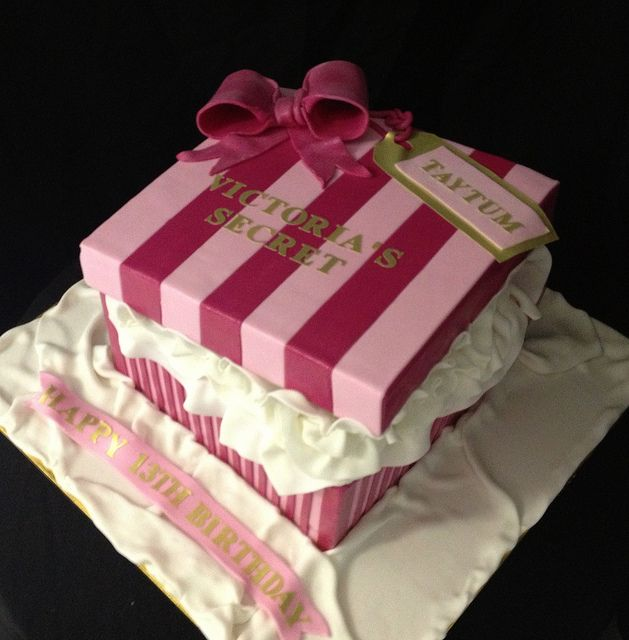 Victoria's Secret Box by Cake Desire Gold Coast, via Flickr